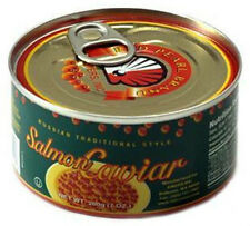 Best Quality Russian Style Kosher Salmon Red Pearl Caviar 200 g / 7 oz can