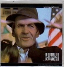 (DE492) Sympathy (Gavin Henderson), Words And Music - 2001 DJ CD