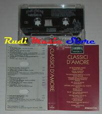 MC CLASSICI D'AMORE Emozioni in musica BONGUSTO VANONI MAL ADAMO cd lp dvd vhs