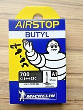 MICHELIN AIRSTOP 700c X 18/23mm INNER TUBES 52mm LONG VALVE WELL MADE IN FRANCE