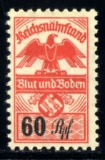 269-GERMAN EMPIRE-Third reich.WWII.NAZI Stamp 60 Rp.Revenue stamp REICH FOOD.MNG
