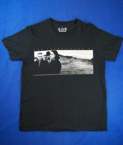 """U2 - """" The Joshua Tree"""" Tour 2017 - Black Shirt - Canvas Large"""