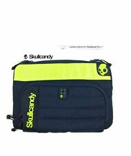 "New Skullcandy Laptop Sleeve for MacBook Pro 15"" w front zip pouch/compartments"