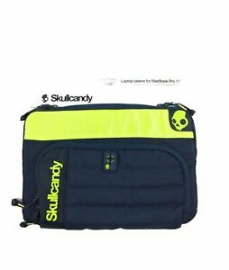 """New Skullcandy Laptop Sleeve for MacBook Pro 15"""" w front zip pouch/compartments"""
