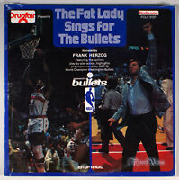 Washington Bullets - The Fat Lady Sings for (1978) [SEALED] Vinyl LP • WTOP