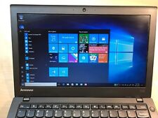 Lenovo Thinkpad laptop X240 i5 4GB 500GB HDD Windows 10 IPS Screen Webcam BT