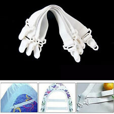 4 Pcs Holder Suspenders Grippers Bed Sheets Buckle Elastic Belt Mattress Clip