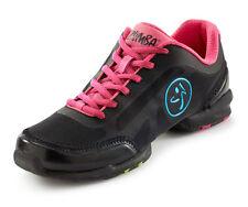ZUMBA Fitness athletic dance shoes FLEX Classic size 11 New black pink fuchsia