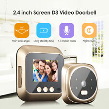D3 2.4 inch Digital Doorbell Night Vision Door Video Eye Camera Viewer Ring