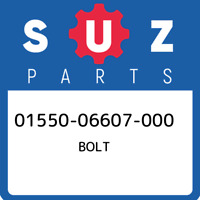 01550-06607-000 Suzuki Bolt 0155006607000, New Genuine OEM Part