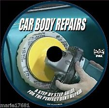 CAR BODY REPAIRS FOR BEGINNERS DENTS SCRAPES FILLING PREP SPRAYING VIDEO DVD NEW