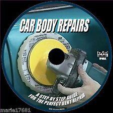 CAR BODY REPAIRS FOR BEGINNERS DENTS SCRAPES FILLING PREP SPRAYING Etc DVD NEW