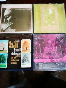 4 X Classical REELS, Bach, Vivaldi, Handel, Saint Saens.