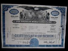"""""""Pan American World Airways, Inc:"""", Hist. valor de papel, US-aeronáutica multinacional"""