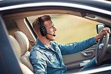 Noise Canceling Bluetooth Headset Microphone Earphones Padded Headband Handsfree