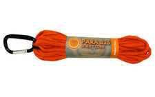 UST Brands Paracord 550 Utility Cord (50 feet) Orange with Accessory Carabiner