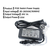 power adapter for AP/CPE/CCTV DC 24V 5A 120W switching power adapter 5.5*2.1mm