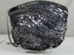 Tiffany Collection Giovanni - Pouch/Evening Bag With Sequins & Beads (D) /319