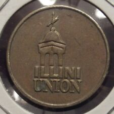Vintage Illini Union Urbana, IL Amusement Token - Illinois