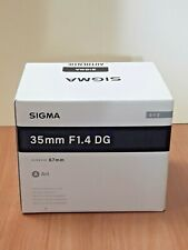 Sigma Art 35mm F/1.4 DG HSM Lens For Canon