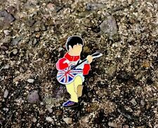 Oasis Noel Gallagher & Epiphone Pin Badge A Guy Called Minty Casual Connoisseur