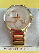 Michael Kors Women's MK3824 'Portia' Quartz Stainless Steel Gold tone Watch