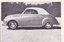 Dyna-Veritas Cabriolet * Orig. Sammelbild * 1951 **
