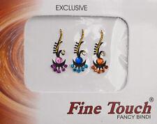 Bindi bijou de peau front Bollywood multicolore dot tilak IND-R 1625