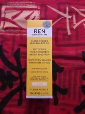 REN, Protection solaire matifiante, haute protection, 50 ml