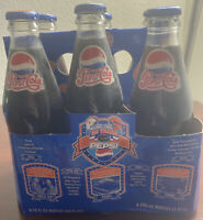 Preowned VTG Florida Gators Pepsi Cola 6 Pack Bottles Years 1906-2006