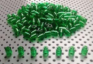 Lego 1x1 Green Transparent Round Brick Barrel (3062) x25 BRAND NEW Star War City