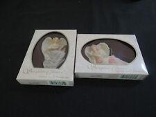 Seraphim Angels - Set of 2 from Roman Inc. 1994 - Lydia Winged Poet + Evangeline