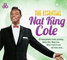 3 CD BOX ESSENTIAL NAT KING COLE UNFORGETTABLE NATURE BOY MONA LISA WHEN I FALL