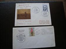 FRANCE - 2 enveloppes 1970/1975 (cy84) french