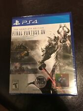 Final Fantasy XIV Online: Complete Edition (Sony PlayStation 4, 2017) New Sealed