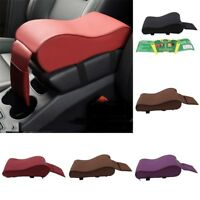 Standard Memory Cotton PU Leather Car Armrest Box Pat Console Pad Cushion