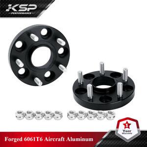 KSP 2x 20MM Wheel Spacers Hubcentric 5x4.5 114.3mm 12x1.5 64.1mm Fr Honda Accord