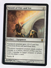 Mtg Magic the Gathering Darksteel Sword of Fire and Ice