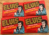 1978 Donruss - Elvis - Wax Pack Lot - 4 Packs, From a New, Sealed Box
