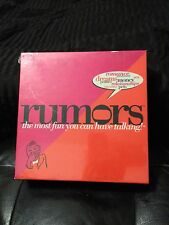 RUMORS  GAME  MOST FUN U CAN HAVE TALKING  ADULT CONVERSATION  NEW  IN BOX  LOOK