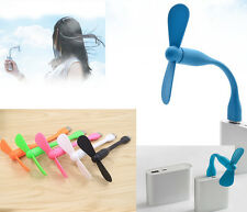 Portable Flexible USB Mini Fan Xiaomi Charge For all Power Supply USB new AY21