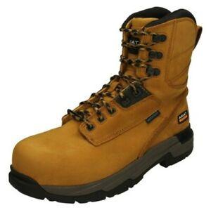 "ARIAT Mens Waterproof Composite Toe Work Boots - MasterGrip 8"""