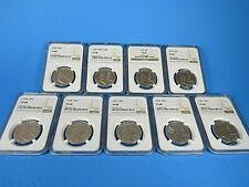 1955 P  to 1963 P, 9-Coin Set, Franklin Half Dollar , NGC  Pf 68   Beautiful Set