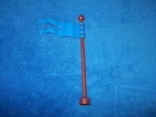 Lego Duplo Ville Fahne Flagge für Mast blau Zoo Zirkus 51725 + Fahnenmast Stange