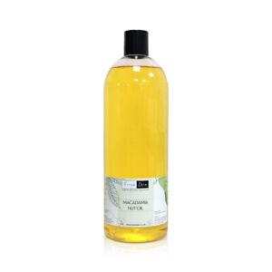 1 Litre Macadamia Nut Oil | Cold Pressed 100% Pure - Massage, Hair & Treatment