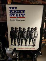 The Right Stuff (DVD) Ed Harris & Dennis Quaid - NASA Mercury Astronauts 1983