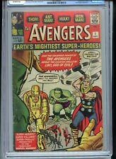 Avengers #1 CGC 3.5 OW Pages 1963 Silver Age