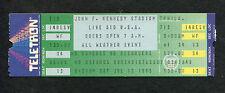1985 Original Live Aid Unused Concert Ticket Philadelphia Dylan Madonna Jagger
