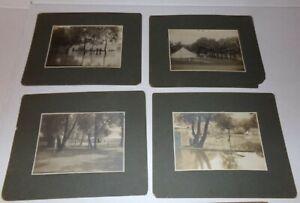 1902 Chemung River Flood Eldridge Park NY Train Ride Bonner Show Photo lot