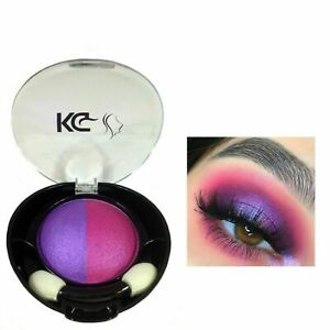 KG DUO HIGHLY PIGMENTED COLOUR EYESHADOW 043 LILAC/PINK & FREE TWEEZER x 1 *NEW*